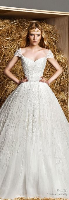196 best ~Zuhair Murad Bridal~... images on Pinterest | Zuhair murad ...