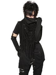 INFINITY LOOP BLACK VIRIOUS Stole Plain Black / See more at http://www.cdjapan.co.jp/apparel/sexpot.html #harajuku #punkfashion