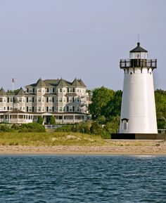 Martha's Vineyard charmer with a seaside-chic look, two restaurants, a boat and views of Edgartown Lighthouse. love the vineyard, love nantucket. Great Places, Places To See, Beautiful Places, Dream Vacations, Vacation Spots, Family Vacations, Marthas Vinyard, Harbor View, Trip Advisor