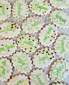tutorial on how to write on cookies