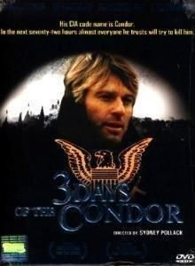 3 Days of the Condor: dvd