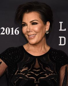 Kris Jenner dazzled in her Zuhair Murad gown and accessorized with jewelry from Lorraine Schwartz