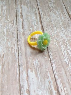 Little Girls Daisy Ring, Girls Sunflower Ring, Girls Jewelry, Toddler Jewelry, Flower Girl Ring, Childrens Jewelry, Children's Accessories by JewelsbyRosies on Etsy