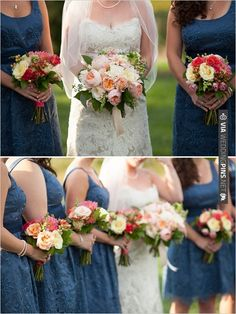 blue bridesmaid dresses | CHECK OUT MORE IDEAS AT WEDDINGPINS.NET | #bridesmaids