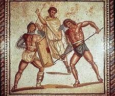12. Roman Civilization c. 7th Century BC – 4th Century AD; wearing subligar and toga