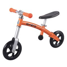 G-Bike pushbike - Orange Micro Teen Children- A large selection of Toys and Hobbies on Smallable, the Family Concept Store - More than 600 brands.