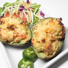"Chicken Stuffed Baked Avocados | ""I made this as is and it was awesome."""
