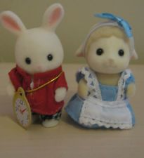 Sylvanian Families - Japanese Alice in Wonderland Baby Pair