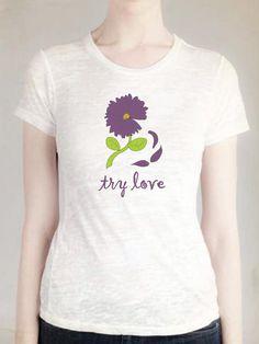Try Love White