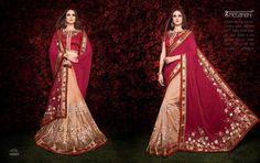 Wedding Designer Indian Ethnic Saree Party Traditional Sari Bollywood Pakistani #KriyaCreation #SareeSari