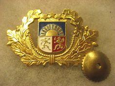 Latvia -- Latvian Army Officer Cap Badge | eBay
