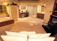 SYBARIS: CHALET SWIMMING POOL SUITE