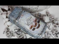 (118) Простой декор банки кофе! Мастер класс! - YouTube Altered Bottles, Reuse, Napkin Rings, Decoupage, Mason Jars, Glass, Youtube, Home Decor, Bottles