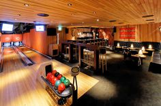 those of you with an unlimited budget.A Home Bowling Alley would definitely be an epic basement remodel. Game Room Basement, Basement House, Basement Carpet, Basement Storage, Basement Bedrooms, Storage Room, Dream Home Design, My Dream Home, House Design