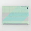 i pad case Abstract lightblue with shades of light pink by Christine Bässler Celle / Germany