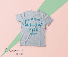 PT2K ( Personal Trainer Kaan Kılıçarslan ) için yaptığımız T-shirt Tasarımı