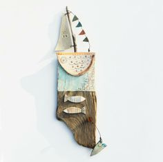 Love To Sail - Driftwood Art - CoastalHome.co.uk: Driftwood