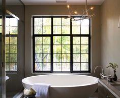 Bathroom for Him Design Idea #13  #BathroomInspirations #InteriorDesigns #Decor #CustomHomes