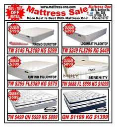 Affordable Sleep Master 10-Inch Supreme Pillow Top Spring Mattress And Bi-Fold Box Spring Set, King