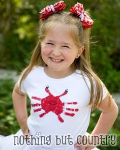 Easy Kids Summertime T-Shirt- Beach Crab | Nothing But Country