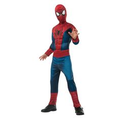 *Includes EVA Muscle Chest Jumpsuit and Fabric Mask *Officially Licensed Amazing Spider-Man 2 Product *Brand New In Manufacturer Packaging Super Hero Costumes, Boy Costumes, Movie Costumes, Halloween Costumes, Spider Man Halloween, Spider Man 2, Superhero Costumes For Boys, Comic 8, Man Child