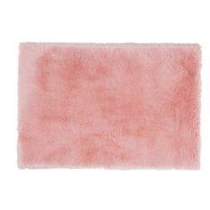 Tapis fausse fourrure rose 120 x 180 cm BLUSH