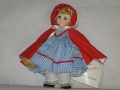 Red Riding Hood Vintage Madame Alexander Doll by GrandmasHerbals