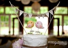 ENTER TO WIN this cutesy Love Bird Cake Topper Give-Away {Gifts Define} | Confetti Daydreams ♥  ♥  ♥ LIKE US ON FB: www.facebook.com/confettidaydreams  ♥  ♥  ♥  #Wedding #Giveaway #competition #caketoppers #lovebirds