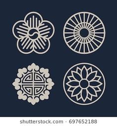 Find Korean Traditional Pattern Icon stock images in HD and millions of other royalty-free stock photos, illustrations and vectors in the Shutterstock collection. Korean Logo, Korean Art, Mandala Pattern, Pattern Art, Pattern Design, Korean Traditional, Traditional Art, Traditional Tattoo Patterns, Korea Tattoo