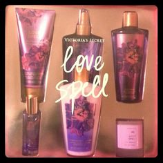 Victoria's Secret Love Spell Box Set ****LIMITED TIME ONLY , will be available only until December 9th******  Awesome Condition!!!! Never used. Set of 6, all items are being sold.   ~Ultra-moisturizing Hand and Body Cream, 200ml  ~Hydrating Body Lotion, 250ml ~Fragrance Mist, 250ml ~Body Wash/Shampooing Corporel, 250ml ~1 Candle ~1 Small bottle of perfume  Would make a wonderful holiday gift!!!! Fragrance is Cherry Blossom and Peach.  No trades, but freel free to Make An Offer :) Victoria's…