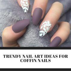 Beautiful Nail Designs and Beautiful Nail Art Designs Matte Nail Art, Fall Acrylic Nails, Glitter Nails, Blue Nails, Brown Nails, Silver Glitter, New Nail Designs, Nail Designs Spring, Spring Nail Art