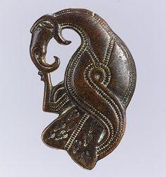 Brooch in the Form of a Bird of Prey [Vendel; made in Scandinavia] (1991.308) | Heilbrunn Timeline of Art History | The Metropolitan Museum of Art