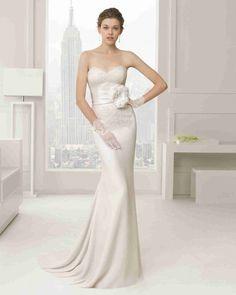 綺麗な ハートカット ブライダルガウン ウェディングドレス Hro0089