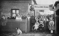 Welcome home, Sapper Dunbar 1919, Adelaide, South Australia, War Memorial collection