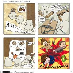Comic Who - The Adipose Revenge - Part 2