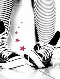 There is nothing like an Awesome pair of Converse Sneakers :3