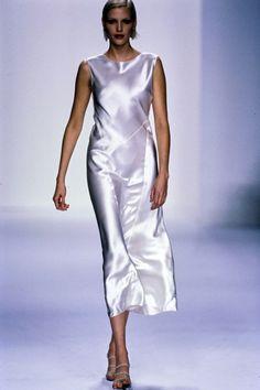 Calvin Klein Collection Spring 1995 Ready-to-Wear Fashion Show - Nadja Auermann