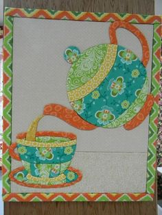 TEA TIME QUILT......PC