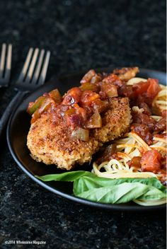South Dakota Food Easy Chicken Parmesan     Wholesome Magazine #wholesomesd #southdakota