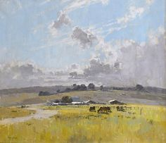"""Landscape With Cattle And Farm Buildings,"" Penleigh Boyd, 1921"