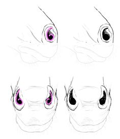 How to Draw Animals: Horses, Their Anatomy and Poses: Horse muzzle