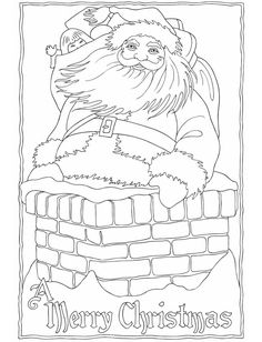 Creative Haven Vintage Christmas Greetings Coloring Book Dover Publications