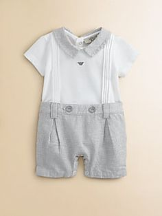 Armani Junior - Infant's Sailor Shortall