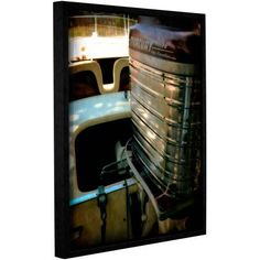ArtWall Kevin Calkins Classic and Chrome Gallery-Wrapped Floater-Framed Canvas, Size: 18 x 24, Red
