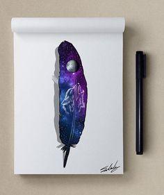 inspiration - Stars Themed Illustrations by Muhammed Salah
