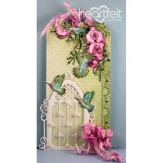 Heartfelt Creations - Hummingbird Cage Tag Project