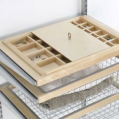 The Container Store > Birch elfa décor Jewelry & Accessory System