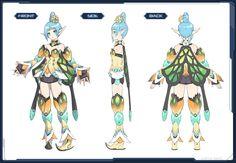 Iriskatze costume