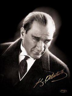 Mustafa Kemal ATATURK. First President of Turkey
