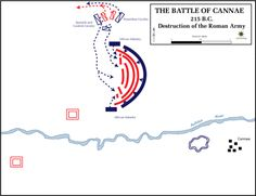 The 8 Biggest Military Defeats Suffered by Rome: Battle of Cannae (Punic War II)
